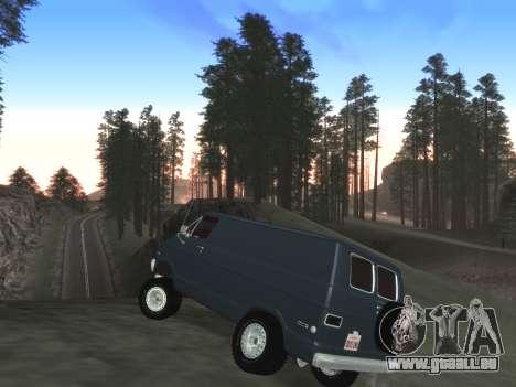Belle Finale ColorMod pour GTA San Andreas cinquième écran