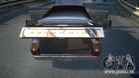 GTA III Perennial High Poly pour GTA 4 vue de dessus