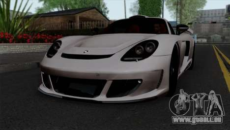 Gemballa Mirage GT v1 Windows Down pour GTA San Andreas