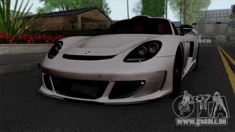 Gemballa Mirage GT v1 Windows Down pour GTA San Andreas