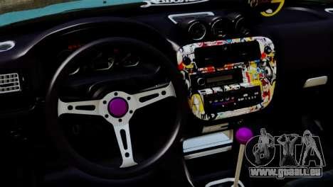 Honda Civic 1.4 Hatcback pour GTA San Andreas vue de droite