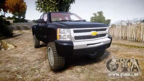 Chevrolet Silverado 1500 LT Extended Cab wheels3 pour GTA 4