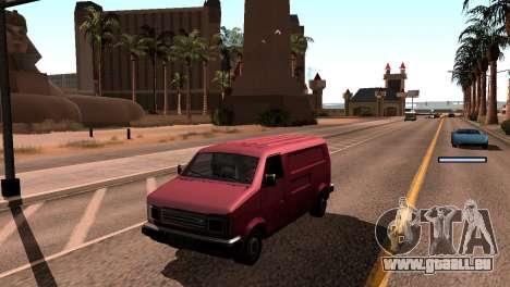 Nouvelles de l'ombre sans perdre de FPS pour GTA San Andreas quatrième écran