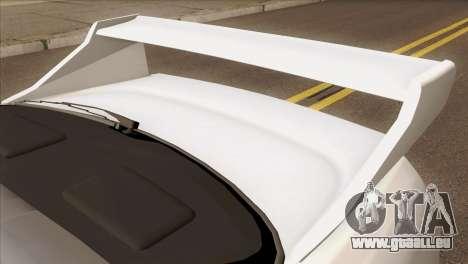 Nissan Skyline R33 Drift JDM für GTA San Andreas Rückansicht