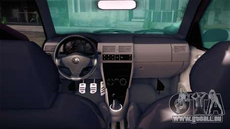 Volkswagen Gol GTI pour GTA San Andreas sur la vue arrière gauche