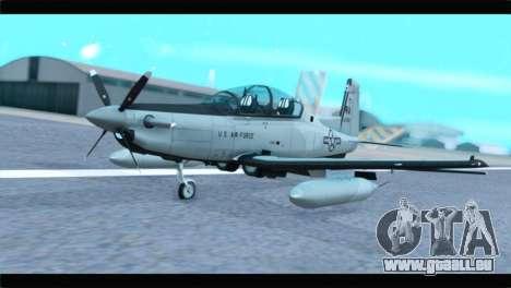 Beechcraft T-6 Texan II US Air Force 4 pour GTA San Andreas