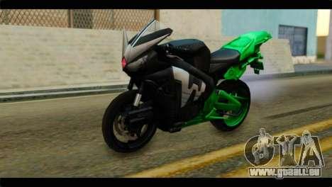 Honda CBR1000RR für GTA San Andreas