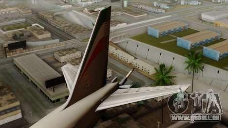 Boeing KC-767 Aeronautica Militare pour GTA San Andreas sur la vue arrière gauche