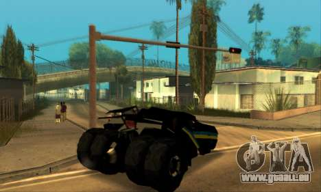 The Tumbler UA Style pour GTA San Andreas vue de droite