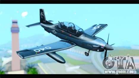 Beechcraft T-6 Texan II United States Navy 2 für GTA San Andreas