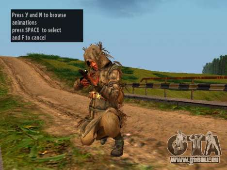 Soviétique Sniper pour GTA San Andreas sixième écran
