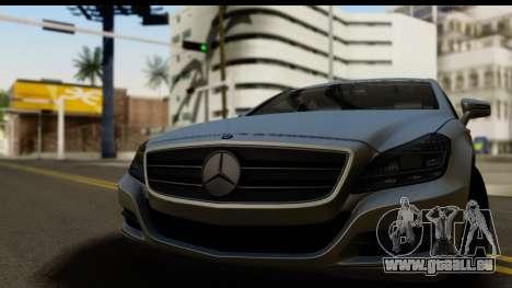 Mercedes-Benz CLS 350 2011 für GTA San Andreas zurück linke Ansicht