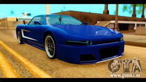 Infernus Rapide GTS für GTA San Andreas