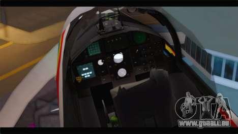 F-15J Hyakuri Air Base 30th Anniversary pour GTA San Andreas vue arrière