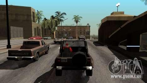 Nouvelles de l'ombre sans perdre de FPS pour GTA San Andreas onzième écran