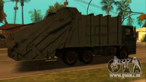 TDK Volvo Xpeditor Garbage pour GTA San Andreas vue arrière