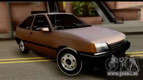 Chevrolet Kadett SL v2.0 für GTA San Andreas