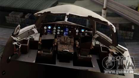 Boeing KC-767 Aeronautica Militare für GTA San Andreas Rückansicht