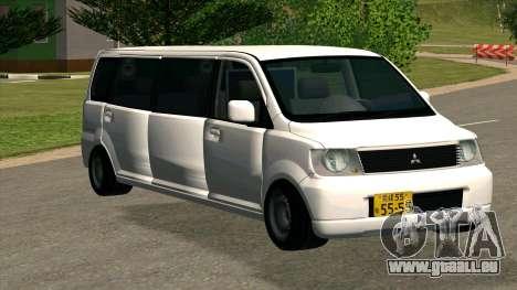 Mitsubishi EK Wagon Limo pour GTA San Andreas