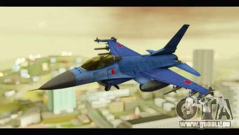Mitsubishi F-2A JASDF Blue v2.0 für GTA San Andreas