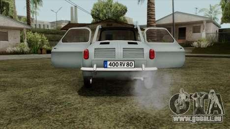 Vespa 400 für GTA San Andreas rechten Ansicht