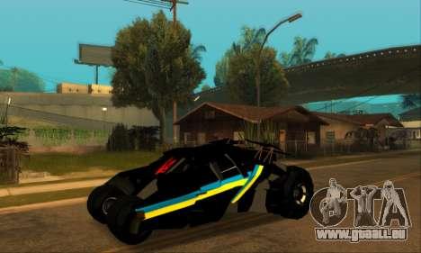 The Tumbler UA Style pour GTA San Andreas