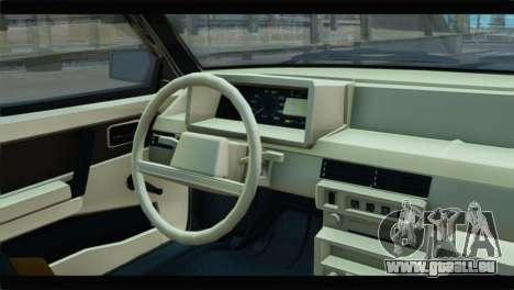 VAZ 21083 pour GTA San Andreas vue de droite