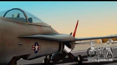 McDonnell Douglas FA-18C Hornet VMFA-232 USMC pour GTA San Andreas vue intérieure