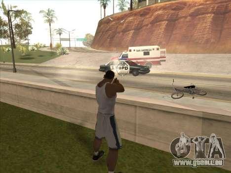 Große russische Waffen für GTA San Andreas fünften Screenshot