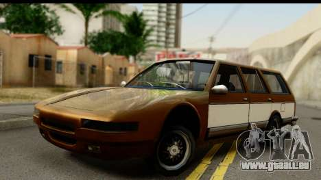 Regina with Infernus face pour GTA San Andreas