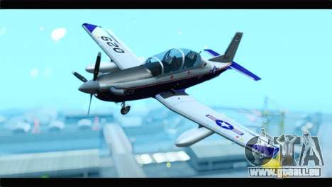 Beechcraft T-6 Texan II  United States Navy pour GTA San Andreas