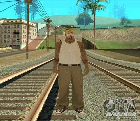 Vagos Skin Pack pour GTA San Andreas deuxième écran