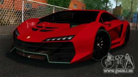 GTA 5 Pegassi Zentorno IVF pour GTA San Andreas