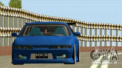 Nissan Silvia S14 Zenki pour GTA San Andreas laissé vue