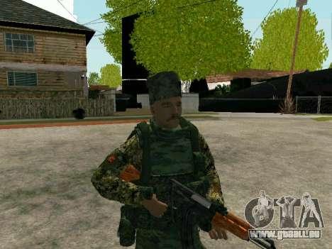 Kuban Cossack pour GTA San Andreas deuxième écran