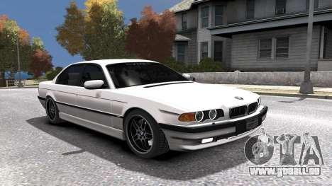 BMW 750i e38 1994 Final für GTA 4-Motor