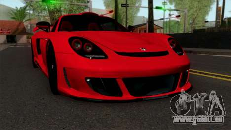 Gemballa Mirage GT v3 Windows Down für GTA San Andreas