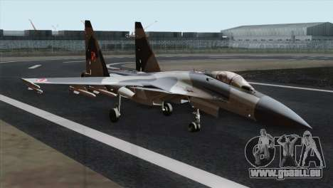 SU-37 Flanker-F Polish Air Force für GTA San Andreas