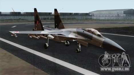 SU-37 Flanker-F Polish Air Force pour GTA San Andreas