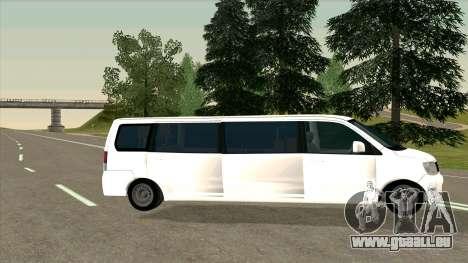 Mitsubishi EK Wagon Limo pour GTA San Andreas laissé vue