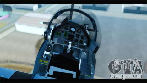Beechcraft T-6 Texan II United States Navy 2 für GTA San Andreas Rückansicht