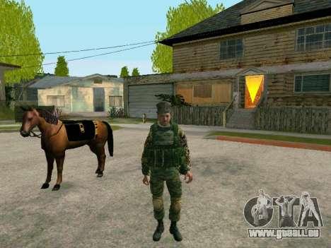 Kuban Cossack pour GTA San Andreas