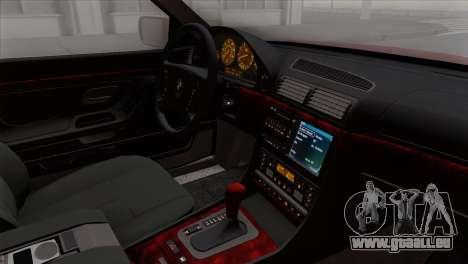 BMW 750iL E38 für GTA San Andreas rechten Ansicht