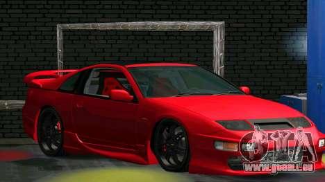 Nissan 300ZX pour GTA San Andreas sur la vue arrière gauche