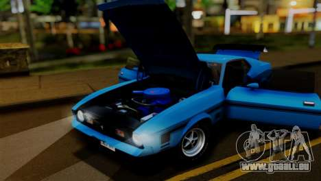 Ford Mustang Mach 1 429 Cobra Jet, 1971 FIV АПП pour GTA San Andreas vue intérieure