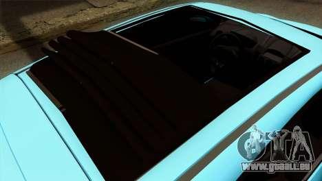 Ford Fiesta 2009 Minty Fresh für GTA San Andreas Rückansicht
