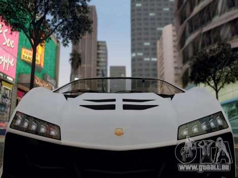 ENB pour les moyennes PC par WD pour GTA San Andreas deuxième écran