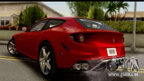 NFS Rivals Ferrari FF für GTA San Andreas linke Ansicht