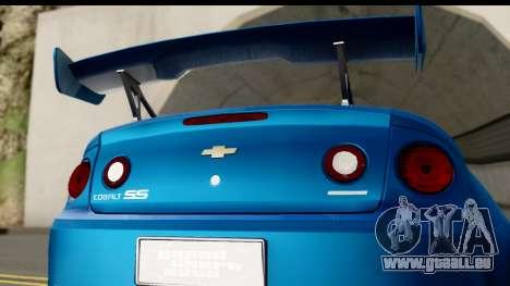 Chevrolet Cobalt SS Mio Itasha pour GTA San Andreas vue de droite