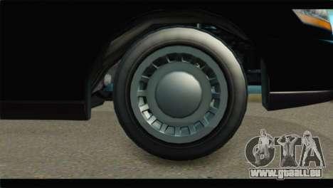 GTA 5 Dundreary Stretch IVF pour GTA San Andreas sur la vue arrière gauche